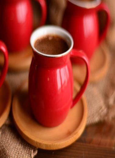 Bambum Selam 2 Kişilik Kahve Fincan Takimi Kirmizi Kırmızı